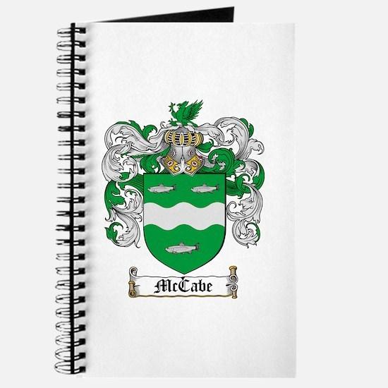 McCabe Family Crest Journal