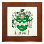 McCabe Family Crest Framed Tile