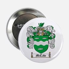 """McCabe Family Crest 2.25"""" Button (100 pack)"""