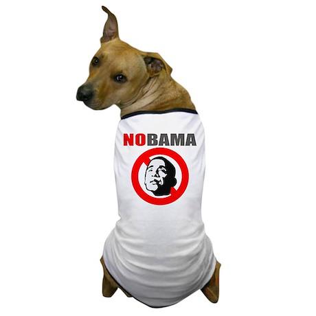 No Obama Dog T-Shirt