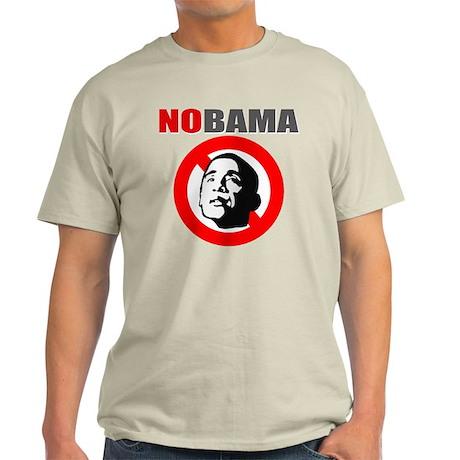 No Obama Light T-Shirt