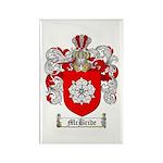 McBride Family Crest Rectangle Magnet (10 pack)