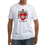 McBride Family Crest Fitted T-Shirt