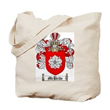 McBride Family Crest Tote Bag
