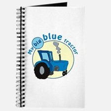 """""""My big blue tractor"""" Journal"""