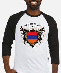 Number One Armenian Dad Baseball Jersey
