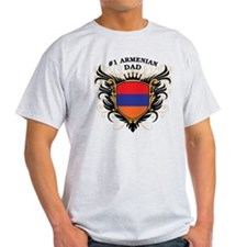 Number One Armenian Dad T-Shirt