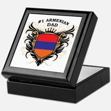 Number One Armenian Dad Keepsake Box