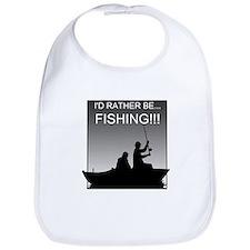I'd Rather Be Fishing!!! Bib