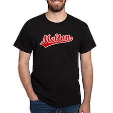 Retro Melton (Red) T-Shirt