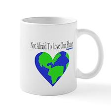 Not Afraid To Love Planet Mug