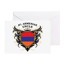 Number One Armenian Uncle Greeting Card