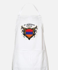 Number One Armenian Uncle BBQ Apron