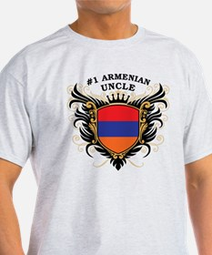 Number One Armenian Uncle T-Shirt