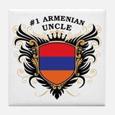 Number One Armenian Uncle Tile Coaster