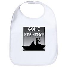 Gone Fishing! Design Bib