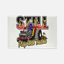 Tractor Pull Still Pla Rectangle Magnet (100 pack)
