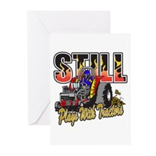Tractor Pull Still Plays Greeting Cards (Pk of 20)