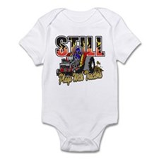 Tractor Pull Still Plays with Trac Infant Bodysuit