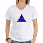 Team NASA Everest Women's V-Neck T-Shirt