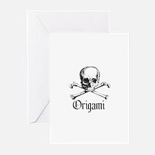 Origami - Crafty Skull & Bones Greeting Cards (Pk