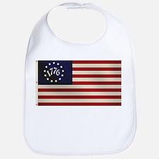 1776 Flag Bib