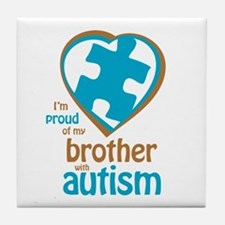Proud of Brother (4BB) Tile Coaster