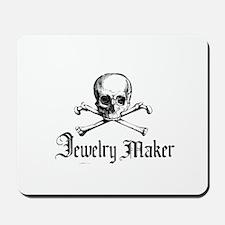 Jewelry Maker - Crafty Pirate Mousepad