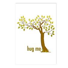 Hug Me TREE (2) Postcards (Package of 8)