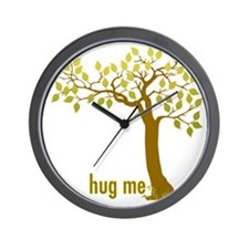 Hug Me TREE (2) Wall Clock