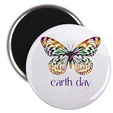 """Earth Day - Butterfly 2.25"""" Magnet (100 pack)"""