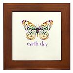Earth Day - Butterfly Framed Tile