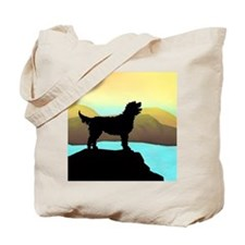 Labradoodle By The Sea Tote Bag