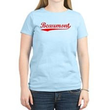 Vintage Beaumont (Red) T-Shirt