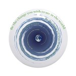 BE THE CHANGE Ornament (Round)