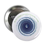 """BE THE CHANGE 2.25"""" Button (10 pack)"""