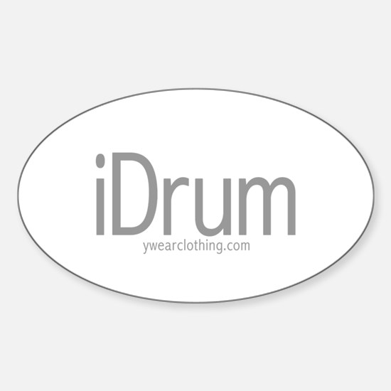 iDrum Oval Decal