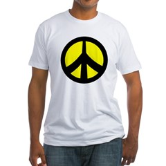 Peace Sign Shirt (yellow/black)