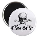 Cross-Stitch - Skull & Crossb 2.25