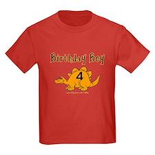 Birthday Boy 4 Dinosaur T