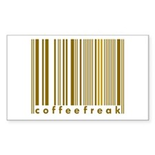 Coffee Freak Brown Caffeine Addict Decal