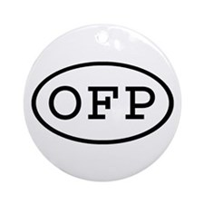 OFP Oval Ornament (Round)