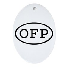 OFP Oval Oval Ornament