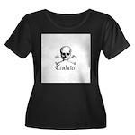Crocheter - Skull & Crossbone Women's Plus Size Sc