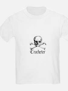 Crocheter - Skull & Crossbone T-Shirt