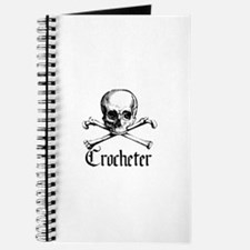 Crocheter - Skull & Crossbone Journal