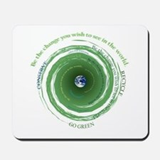 Be the Change - Recycle Mousepad