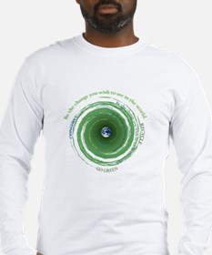 Be the Change - Recycle Long Sleeve T-Shirt