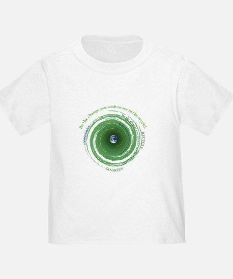 Be the Change - Recycle T