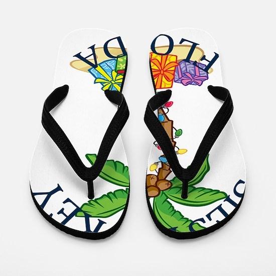 Cute Miami beach Flip Flops